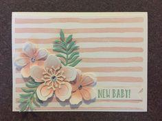 Brush strokes, botanical blooms, mint macaron, powder pink, happy celebrations, baby