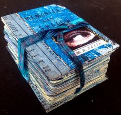 52 Card Pick Up by Seth Apter - mxied media journal to document a year in your life #art #journaling