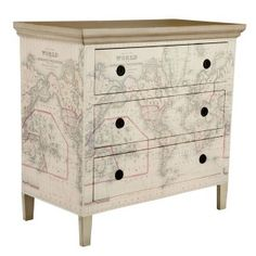 Wisteria's Map Dresser LOVE THIS