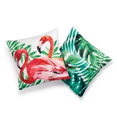 Set of 2 floral, tropical pillow covers, easy additions to redecorate any room into summer! Regularly $19.99, shop Avon Living online at http://eseagren.avonrepresentative.com