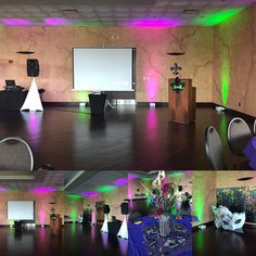 Event Number 3 today.  Cosmetology Banquet to finish off the evening.  #videoprojectionrental #dancefloor #houstonfemaledj #dancefloorlighting #videoprojection #wemakeslideshows #djlashortay