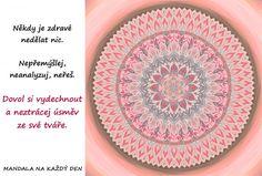 Mandala Dovol si vydechnout a být šťastný Favorite Quotes, Buddha