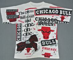 Chicago Bulls Shirt Man Large Vintage 90s Chicago by neverfull