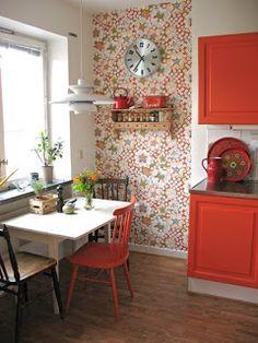 Artes e Badulaques: Aplicação de tecido by Kitchen Decor, Interior Design Kitchen, Pinterest Home, Home Decor Inspiration, Decor, Home, Interior, Kitchen Design, Home Decor