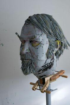 Sculptor Scott Fife