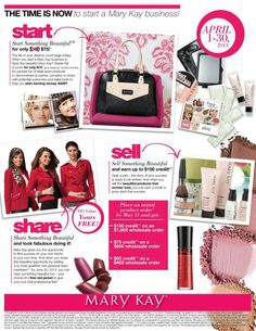 $50 September 2013! Contact me for more information!! www.marykay.ca/eshilkina