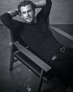 Chris Hemsworth para GQ Australia