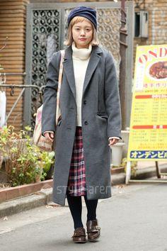 Emi | LOWRYS FARM  rivet&surge LOST & FOUND tutuanna* earth music & ecology merlot | 2nd week  Jan. 2015 | Harajuku | TOKYO STREET STYLE | TOKYO STREET FASHION NEWS | style-arena.jp