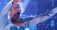 Watch Channing Tatum Lip Sync 'Frozen' Song 'Let It Go' in Costume -- Spike has released the latest performance from 'Lip Sync Battle', which has Channing Tatum Performing 'Let It Go' in costume as Elsa. -- http://movieweb.com/frozen-song-let-it-go-channing-tatum/