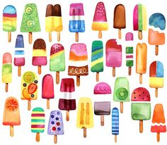 Margaret Berg : summer / fruit fun: Summer Popsicles!