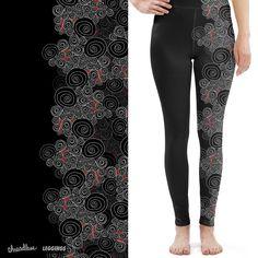 Ghirigori on Threadless #leggings #dark #ghirigori #vote #threadless https://www.threadless.com/designs/ghirigori-2