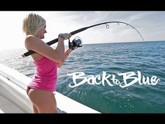 Girls First Time Fishing: For Snapper Off The East Coast Of Florida, With Back To Blue Adventure - YouTube