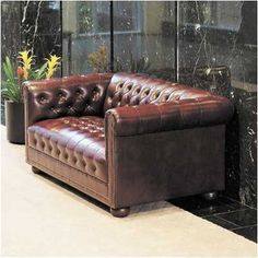 High Point Furniture 4302 Chesterfield Loveseat