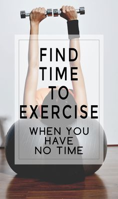 Tips and tricks to finding time to exercise when you have no time! We all know how tough it is during busy seasons. Here are 7 tips to making working out a reality when life is busy!