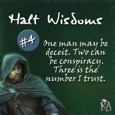 Halt Wisdoms #4.