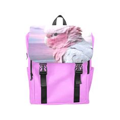 Galah Cockatoo Casual Shoulders Backpack. FREE Shipping. FREE Returns. #lbackpacks #parrots
