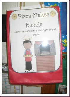 pizza maker blends literacy game