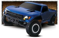 1/10 scale rc ford raptor traxxas $250 2wd