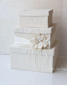 Wedding Card Box Wedding Money Box Gift Card by jamiekimdesigns, $159.00