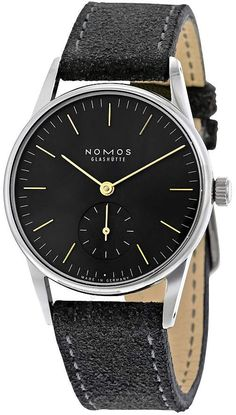 Nomos Orion 1989 November Gray Dial Stainless Steel Ladies Watch