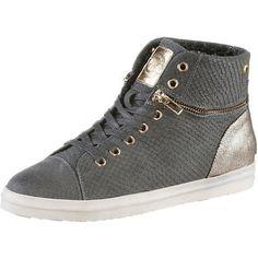 Replay Then Platinum, Schuhe, Sneaker & Sportschuhe, Hohe Sneaker, Braun, Grau, Beige, Female, 36