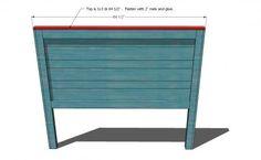 Reclaimed-Wood Headboard, Queen Size