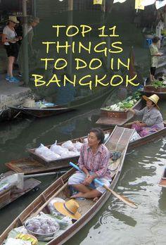 Top 11 Things to do in Bangkok Thailand | SavoredJourneys.com