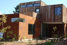first residential SIP's house - design by Seed Architecture - on market $635k