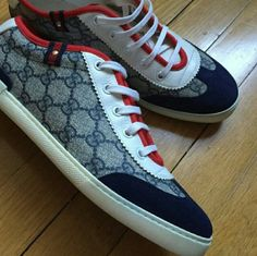 GUCCI Sneakers Gucci Sneakers...Nice style must have! Good condition! Great price. Gucci Shoes Sneakers