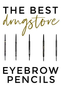 The best drugstore eyebrow pencil - 5 drugstore eyebrow pencils for anyone! Source by mego products drugstore Eyebrow Makeup Tips, Makeup Dupes, Eye Makeup, Beauty Makeup, Makeup Eyebrows, Eye Brows, Makeup Primer, Makeup Goals, Makeup Inspo