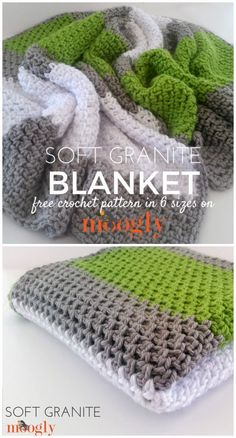 These highly special free corner-to-corner crochet blanket patterns, ready to bring coziness to your home!Crochet Soft Granite Blanket