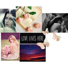 An art collage from June 2015 Enneagram Types, Collage Making, Love Life, Preserves, Self, Polyvore, Mary, Design, Women