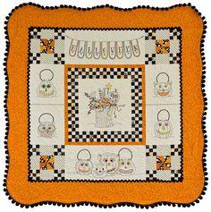 Vintage Trick or Treat - Autumn / Halloween - Patterns - Crabapple Hill Studio