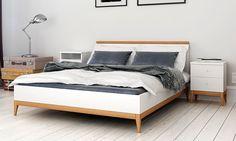 Łóżko drewniane Visby Livia - Sklep meblowy Onemarket - Meble do sypialni, pokojowe, młodzieżowe