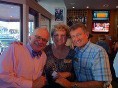 Alex Kamas, Gloria Grenier & Bill Wallace at Sarasota Sister Cities July 2011 Meet & Greet at Patrick's in downtown Sarasota