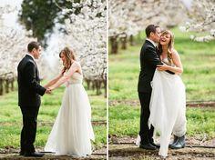 Rain boots   From http://greenweddingshoes.com/colorful-backyard-diy-wedding-becca-orion/