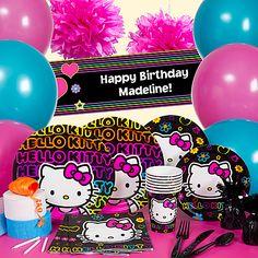 47 Delightful Neon Hello Kitty Images Birthday Ideas Glow Party