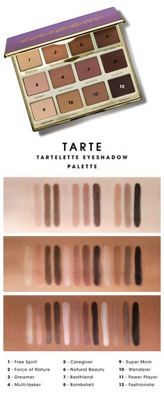 TARTE EYESHADOW LOOKS GOOD ON ALL SKIN TONES #Sephora