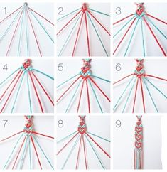 Embroidery Bracelet Patterns The Diy Fastest Friendship Bracelet Ever. Embroidery Bracelet Patterns Easy Friendship Bracelets With Cardboard Loom Red . Bracelet Crafts, Jewelry Crafts, Cute Crafts, Crafts To Do, Kids Crafts, Heart Friendship Bracelets, Heart Bracelet, Diy Friendship Bracelets Tutorial, Bracelet Photo