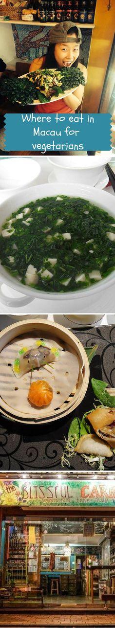 Guide for vegetarians when visiting Macau