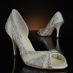 Catherine by Benjamin Adams, designed in honor of the Royal Wedding! Fit for a princess. MyGlassSlipper.com.
