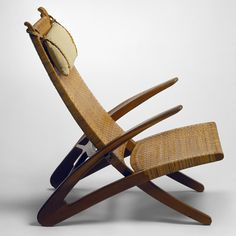 "PP512 The Folding Chair, 1949.   Copenhagen exhibition to celebrate ""most important Danish designer"" Hans J. Wegner"