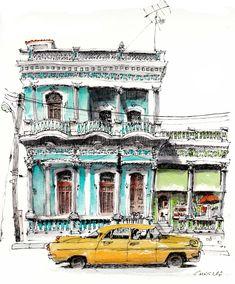 Cienfuegos, Cuba, by Chris Lee
