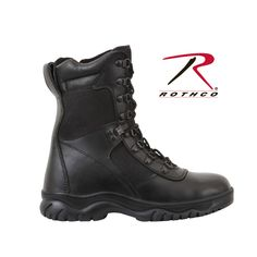 "Rothco Forced Entry 8"" Tactical Boot With Side Zipper: giá 1960k  Chi tiết sản phẩm: http://www.taphoa95.com/rothco-forced-entry-8-tactical-boot-with-side-zipper-6185072.html"