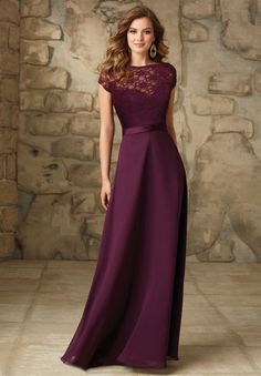 Wedding Dresses, Bridesmaid Dresses, Prom Dresses and Bridal Dresses Mori Lee Bridesmaid Dresses - Style 101 - Mori Lee Bridesmaid Dresses, Fall Removable Lace Bateau Jacket with Low V-Back and Satin Trim. Satin and Chiffon Raspberry Bridesmaid Dresses, Eggplant Bridesmaid Dresses, Mori Lee Bridesmaid Dresses, Designer Bridesmaid Dresses, Bridal Dresses, Designer Dresses, Plum Dresses, Wine Colored Dresses, Winter Bridesmaid Dresses