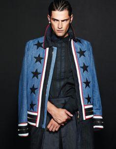 Sean O'Pry in Givenchy forDansk Fall Winter 2012-Ohhh' PRYbyMichael Schwartz