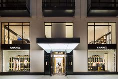 Chanel's new Boston store, crafted by architect Peter Marino.