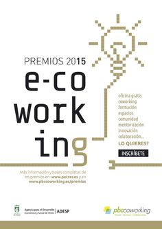 Premios e-coworking para profesionales, emprendedores y pymes de la provincia de Alicante y Petrer.