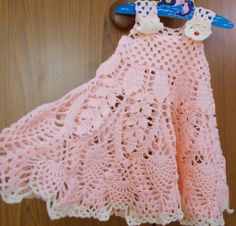 Sweet Nothings Crochet: PEACHILICIOUS !! A DIVINE DRESS !!
