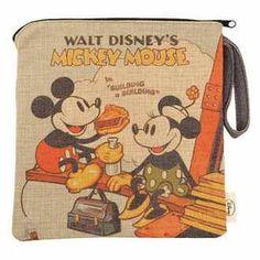 Mickey & Minnie Lunchbag